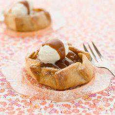 Apple-Apricot Crostatas from The Sugar Cube by Kir Jensen