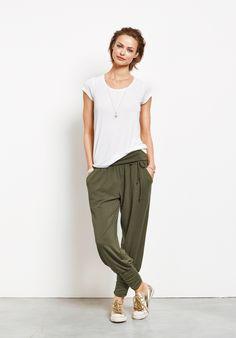 Long Harem Trousers