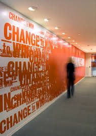 Image result for wall design office