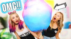 DIY GIANT COTTON CANDY w/ WENGIE! - YouTube