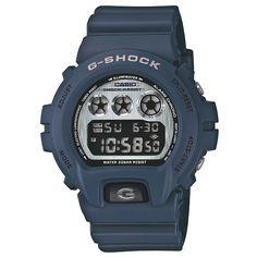 Casio G-Shock Dw-6900nb-2er Watch - Navy at Urban Industry
