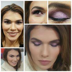 NIGHT  She Carolina López  #shine #makeup #beauty #kryolan #pigments #borravino #night #contouring #colorful #creamliner