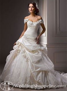 Order a Maggie Sottero Decadence Bridal Gown at The Wedding Shoppe today