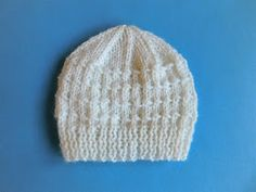 """Angus Baby Hat       Angus Baby Hat  ~  for a large premature / early newborn baby        Size:   Width: 5"""" (12.5cm)  11""""  (25cm) ..."""