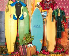 Free People's new Surf Shack Shop - can you say that 10 times fast? Bounty Beach, Vintage Love, Aloha Vintage, Vintage Style, Surfboard Skateboard, Vintage Surfboards, Free People Blog, Love The Earth, Dream Photography