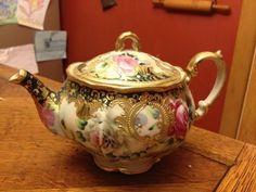Vintage Nippon Tea Pot