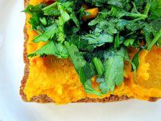 Potrawy Półgodzinne: Pasta z kaszy jaglanej, marchewki i papryki