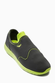 Green/Grey Beachsock Trainers (Older Boys)