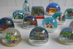 Vintage Snow Globes