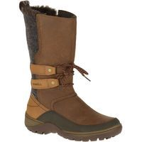 Tackle the elements without sacrificing style in the waterproof insulated Sylva with double trap tie front, inside zip, and an extra comfy footbed.Features• M Select™ DRY seals out water and lets moisture escape so you stay dry when you're on the move• Full grain leather and fabric upper • Inside zipper for easy on and off • Faux fur collar • M Select™ WARM lightweight, low bulk 200 grams insulation keeps you comfortable• Conductor™ fleece lining for added warmth treated with M Select™…