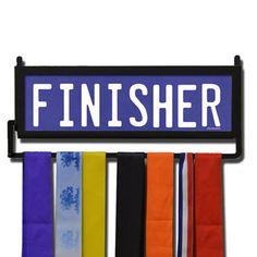 RunnersWALL Finisher Medal Display | Running Medal Hangers | Running Home Decor | Wall Displays for Race Medals  #run #running #marathon #gift