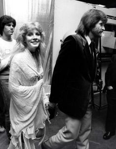 Stevie ~ ☆♥❤♥☆ ~ out and about with her then, first-time ever husband, Kim Anderson; she married him on January 29th, 1983, but the marriage didn't last long