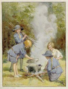 Margaret Tarrant - ''Cooking Pot''