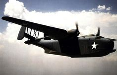 Martin-PBM-Mariner-flying-boat- hidroavião americano.