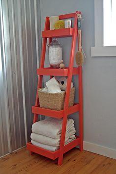 Ana White Bathroom Storage Tower from KregJig.ning.com