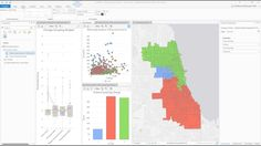 Interactive Data Visualization for Spatial Analysis