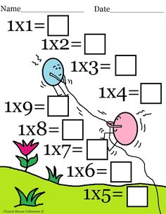 Church House Collection Blog: Easter Math Worksheets For Kids