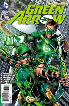 Weird Science: Green Arrow #38 Preview