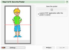 Poster Razor (free download) enlarges your images, documents, etc. and converts them into pdf files. Great for sharing and selling on TpT and Teacher's Notebook.