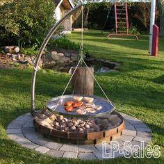 Udstyr til ditstationære bålsted - se mulighederne her #outdoorfirepit