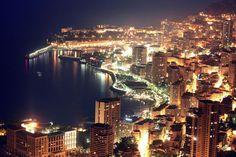 Monaco - All Lit Up!