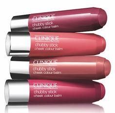 Clinique Chubby Stick Cheek Colour Balm...quick, easy, natural blush. Love!
