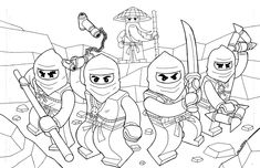 ninjago Coloring Pages | Lego ninjago coloring pages