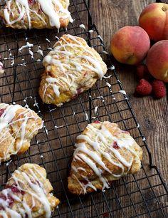 Peach Melba Scones