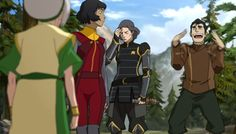 3 Generations of Beifong and Bolin I CAN'T