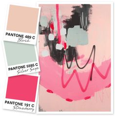 Pink and Silver Sage Color Palette