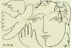 Picassos beautiful illustration of peace