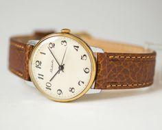 Classical men's watch Rocket, shockproof men's watch, dress watch him, retro men watch, minimalist gent's watch, new premium leather strap