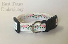 Personalized dog collar  Custom dog collar with name and