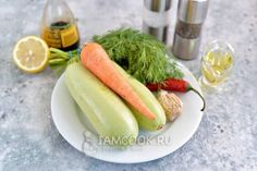 Кабачки по-корейски быстрого приготовления кружочками — рецепт с фото пошагово. Как приготовить кабачки по-корейски кружочками? Pickles, Cucumber, Food, Meal, Essen, Pickle, Hoods, Meals, Zucchini
