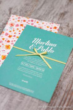 Wedding invitations / Invitaciones de boda