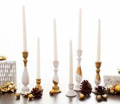 25 kreative Deko Ideen für Kerzenhalter zum Selbermachen