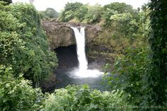 Rainbow Falls on the Big Island of Hawaii's east side is easily accessible from Hilo and one of the nicer waterfalls in the area.