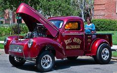 1940 Willys pickup - Big John Mazmanian.  The best of 3 worlds!