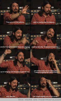 Dave Grohl - Funny Fail Images Host Mafia