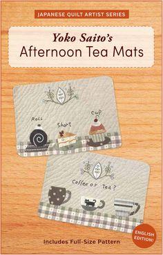 Yoko Saito's Afternoon Tea Mats with full от ZakkaWorkshopStore