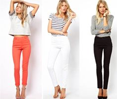 High waisted skinny pants, Asos / Madeleine's Dream blog