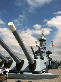 Battleship NORTH CAROLINA in Wilmington, NC