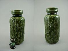 Vintage Vase / Scheurich / 288 22 / Koralle | West Germany | WGP | 60er von ShabbRockRepublic auf Etsy