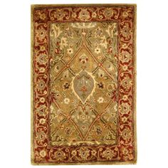 Found it at Wayfair - Persian Legend Rust Area Rug