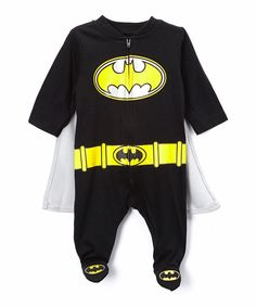 Look at this Black Batman Footie