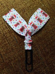 A personal favorite from my Etsy shop https://www.etsy.com/listing/516241545/gumball-candy-machine-ribbon-paper-clip