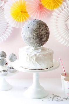 DIY Moon Cake Topper | Handmade Charlotte