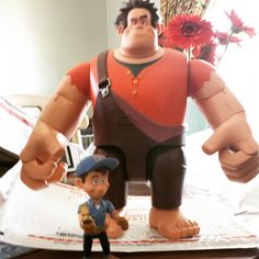 Check out the best birthday gift for my Wreck It Ralph obsessed kid! mamaello.wordpress.com