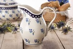 Dzbanek ceramiczny na wodę GU-1160 DEK. 890 Bolesławiec 1,7 l