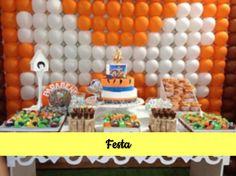 Inspiração para Festa Flintstones. Festa linda e super diferente.